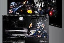 Formel 1 - Zehn Designs zum Titel: Gewinnspiel - Vettels Weltmeister-Kalender