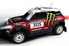 Dakar - Rallye-Mini in nur 90 Tagen einsatzbereit: All4 Racing mit Mini bei der Dakar