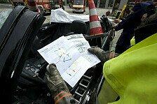Auto - Helfer darf nicht unter Spannung stehen : Rettungskarte mit besonderer Bedeutung