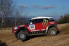 Dakar - Gespannt auf die Dakar: X-Raid testet Mini All4 Racing erfolgreich