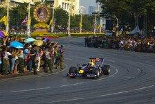 Formel 1 - Nachtrennen in Bangkok: Ecclestone best�tigt Thailand-GP 2015