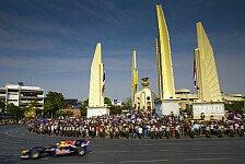 Formel 1 - Nachtrennen in Bangkok 2014?: Deal zwischen Thailand und Ecclestone