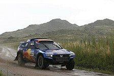 Dakar - Guter Start in die zweite Dakar-H�lfte: Volkswagen mit Dreifachsieg