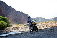 Dakar - Coma: Ein echter Dakar-Tag: Stimmen vom Motorrad-Tag