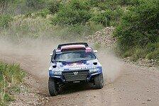 Dakar - Anden�berquerung gut �berstanden: Volkswagen behauptet Doppelf�hrung