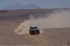 Dakar - Drei Fahrer sind schneller als der Rest: Peterhansel lieferte sich spannende Rennen