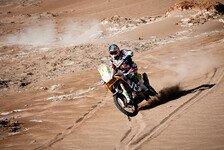 Dakar - Doppelsieg f�r KTM: 8. Etappe - Coma baut mit Sieg Gesamtf�hrung aus