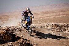 Dakar - Portugiesisches Duell: 6. Etappe - Faria mit dem zweiten Siegversuch