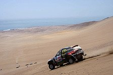 Dakar - Peterhansel verliert Zeit, Chicherit scheidet aus: Gro�e R�ckschl�ge f�r BMW X-Raid