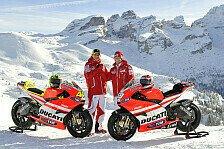 MotoGP - Rot, wei� und gelb: Ducati stellt GP11 vor