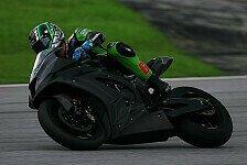 Superbike - Auch ohne Vermeulen vorw�rts gekommen: Kawasaki schlie�t Tests in Sepang ab
