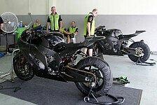 Superbike - Bilder: Kawasaki-Test Sepang