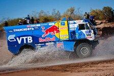 Dakar - Vierfachsieg f�r die blauen Kamaz-Trucks: Trucks: Vladimir Chagin gewinnt erneut