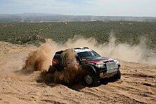 Dakar - 2012 schon fest im Blick: Peterhansel beendet Dakar auf Platz vier
