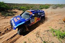 Dakar - Sieg f�r Sainz auf der letzten Etappe: Al-Attiyah und Gottschalk gewinnen die Dakar 2011