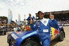 Dakar - Ein gutes Auto: Al-Attiyah 2012 mit Mini am Start