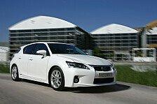 Auto - Der Vollhybrid CT 200h gl�nzt mit Bestwerten : Der erste Lexus unter den Kompakten