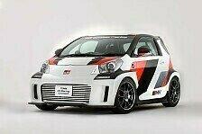 Auto - Konzeptfahrzeug mit Kompressor und �berrollk�fig : Sportlich veredelter iQ von Toyota