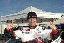 WRC - Zuversichtlich in das neue Rallye-Jahr: Elfte WRC-Saison f�r Solberg