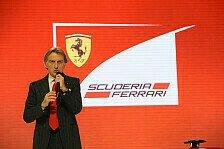 Formel 1 - Aerodynamik muss unwichtiger werden: Montezemolo: Motoren-Entscheidung gut