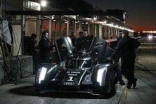Le Mans Serien - Vorbereitung auf Le Mans in Sebring: Erfolgreicher Test f�r den Audi R18
