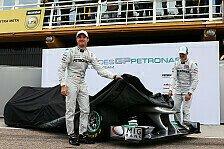 Formel 1 - Der vierte Silberpfeil der Neuzeit: Mercedes-Pr�sentation am 4. Februar in Jerez