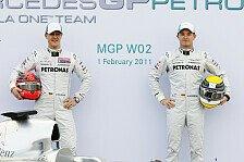 Formel 1 - St�rkster Teamkollege: Schumacher: Ich kann viel von Rosberg lernen