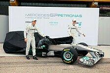 Formel 1 - Video: Formel 1, Video: Mercedes erklärt Schumis zweiten Silberpfeil
