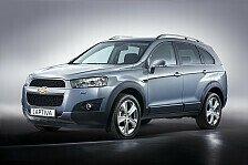Auto - Ein Kompakt-SUV f�r alle Lebenslagen : Der neue Chevrolet Captiva