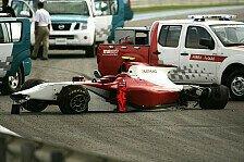 GP2 Asien - Testfahrten in Abu Dhabi