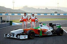 Formel 1 - Force India Fotoshooting