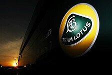 Formel 1 - Nur ein paar Kabel verbrannt: Truck-Feuer bei Lotus ohne Folgen