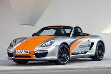 Auto - Auto-Salon Genf: Porsche Hybrid-Weltpremiere: Porsche startet Praxistests mit Elektro-Boxstern