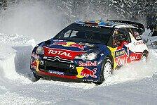 WRC - Frontalkollision im letzten Moment verhindert: Loeb kam nur knapp davon