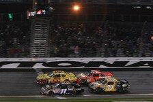 NASCAR - Denny Hamlin wurde der Sieg aberkannt: Kurt Busch gewinnt Daytona-Shootout