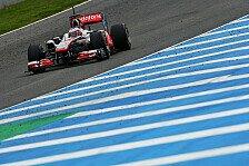 Formel 1 - Die Stoppuhr l�gt nicht: Button findet Zeiten-Mysterium spannend