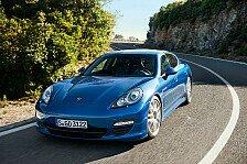 Auto - Der sparsamste Porsche aller Zeiten: Klassenbester: Der neue Panamera S Hybrid