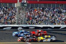 NASCAR - 0,007 Sekunden Vorsprung: Nationwide: Stewart siegt per Foto-Finish