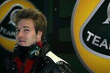 Formel 1 - Zwei Jungspunde f�r Lotus im Einsatz: Formel-1-Test f�r Razia und Valsecchi