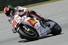 MotoGP - Gresinis mit Motorrad zufrieden: Aoyama fand die Richtung