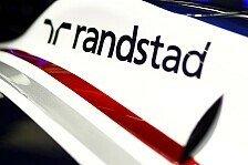 Formel 1 - Randstad und Experian: Williams: Alte und neue Sponsoren