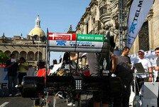 Formel 1 - Bilder: Sauber Showrun in Mexiko
