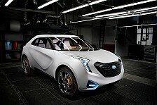 Auto - Netzwerk auf R�dern: Stadt-SUV Hyundai HCD-12 Curb