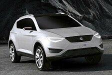 Auto - Neue SEAT Design-DNA verbindet SUV und Sportcoupe : Der junge Crossover: Seat IBX Concept Car