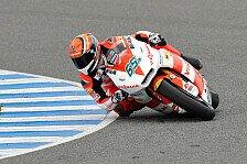Moto2 - Absolut zufrieden: Jerez-Test: Corsi vor Bradl