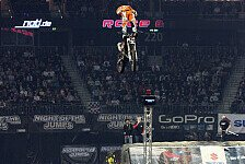 NIGHT of the JUMPs - Bizouard gegen Miralles: Berlin: Miralles springt zum Sieg