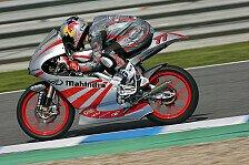 Moto3 - Mehr Testzeit w�re gut: Mahindra kommt voran