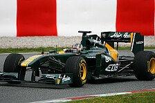 Formel 1 - Hoffentlich keine Fehler: Valsecchi darf f�r Team Lotus ran