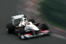 Formel 1 - Gelungene Premiere: Perez nach Fabelzeit hei� auf Melbourne