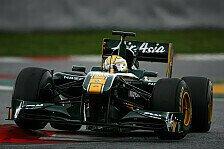 Formel 1 - Risiko-Minimierung: Lotus geht kein Risiko mit Razia-Einsatz